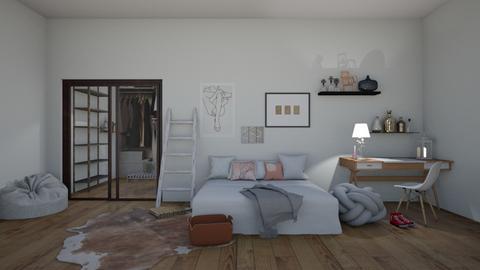 for madaline - Modern - Bedroom  - by matildabeast