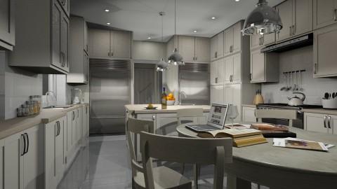 Family Kitchen - by Valentinapenta