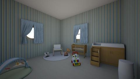 Jaedyns room - Kids room  - by kathleengriffin