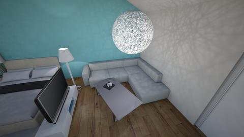 finis haus - Living room  - by fini_13