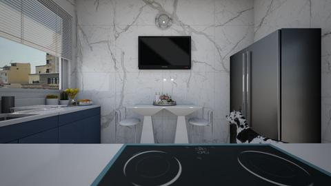 mns ktchn - Modern - Kitchen  - by Jessi Bust