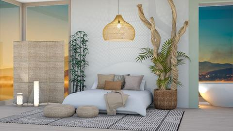 Natural Feng Shui - Bedroom  - by aestheticXdesigns
