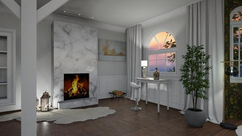 LivingRoom with view III - Glamour - Living room  - by Andrula