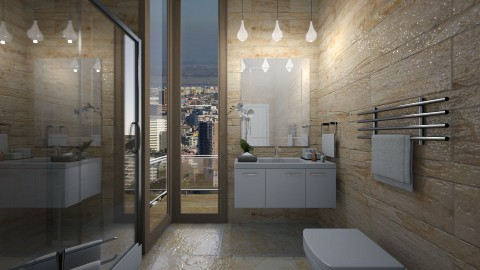 ReguLarBathRoom - Bathroom  - by Nard8A