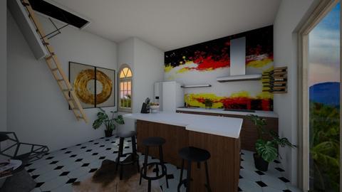 Basement kitchen  - Kitchen  - by nikitah23