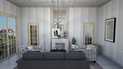 gray - Living room  - by steker2344