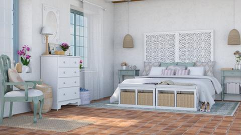 camera romantica - Rustic - Bedroom  - by Charipis home