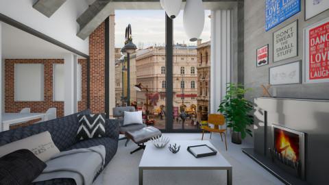 House In Vienna - Modern - Living room  - by KRdesign