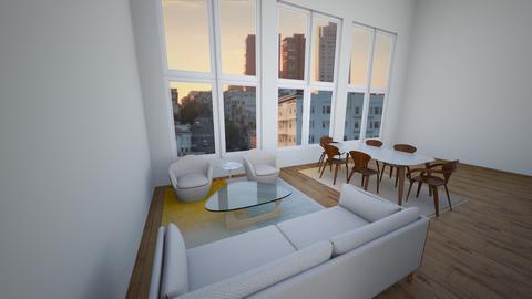 Union House SF - Living room - by BrianDenton