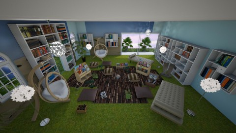 book oasis - Eclectic - Living room  - by CARMEND70