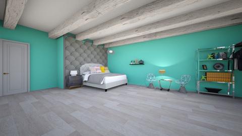 My new bedroom_done - Rustic - Bedroom  - by Itsavannah