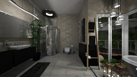 bathroom of the garden - Modern - Bathroom  - by patriicia popa