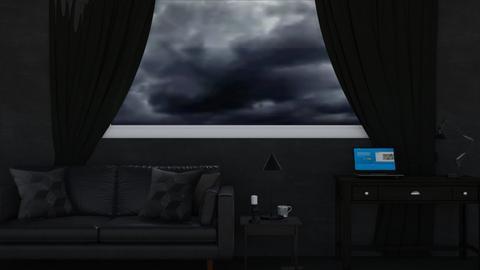 black - Living room  - by DarcieM88