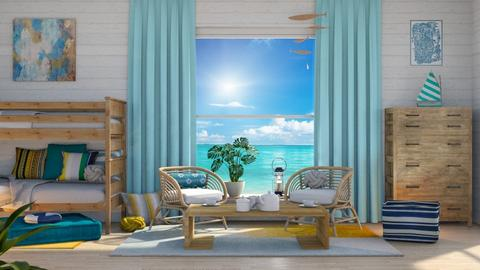 Tropical 2 - Classic - Bedroom - by WubMaxWax