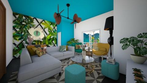 tropical room - by Sandra Teixeira de Sousa