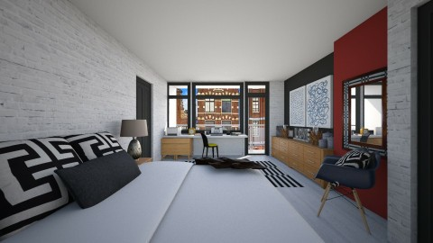 167 Bedroom redesign - Modern - Bedroom  - by Agata_ody
