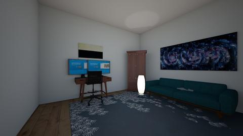 Modern office  - Office  - by Sophia_
