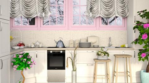 Shabby Chique Kitchen - Classic - Kitchen - by millerfam