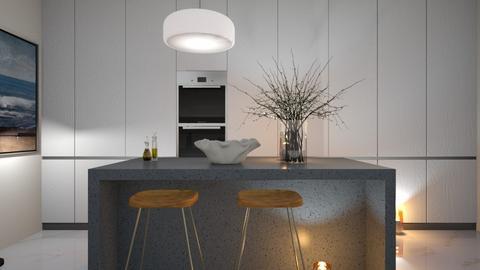 MINIMALIST - Kitchen  - by zarky