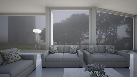 Window Wall - Minimal - Living room  - by kristenaK