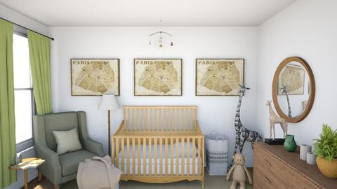 Baby Nursery - Modern - Kids room  - by SDFDesigns