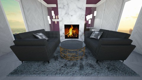glamour - Glamour - Living room - by newyork4everloved