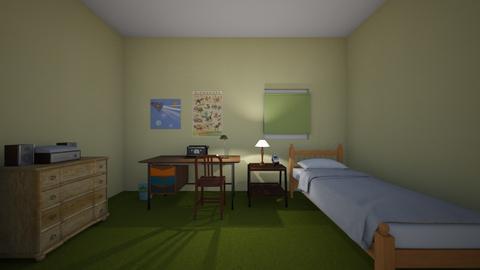 Bedroom 1970s - Kids room  - by WestVirginiaRebel