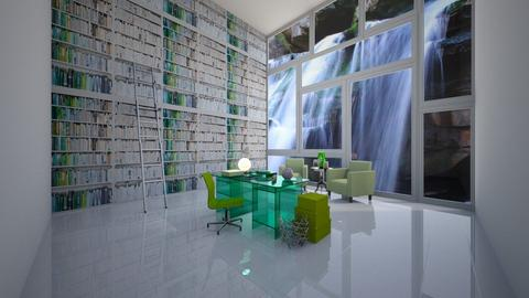 Brandy Study - Office - by MichaelAndAvery