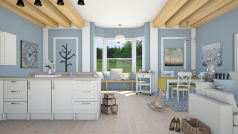 dream cloud - Country - Living room  - by megalia42