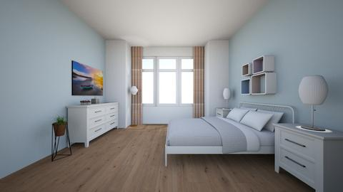 B - Modern - Bedroom  - by Twerka