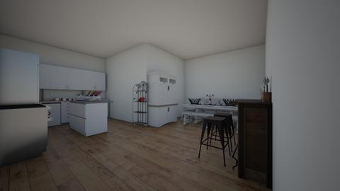 HOUSE - Kitchen  - by Julianna Lopez