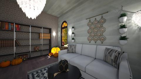minimal  - Minimal - Living room  - by BlackOrchidea