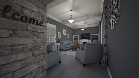 Our House - Living room - by kittkatt1021