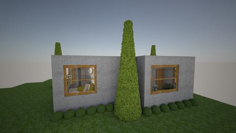 exroom1m - Garden - by decobiz