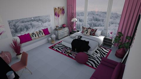 Wink of Pink - Bedroom  - by Khayla Simpson