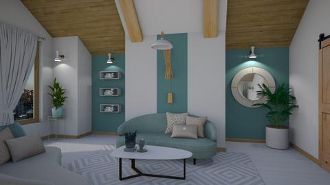 Minimal Living - Living room  - by Nicky West