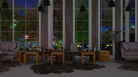 dining and living room - Dining room  - by malithu damsath