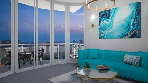 glamorous apartment - by Merily