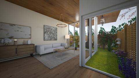 window - Living room  - by PAULA avila