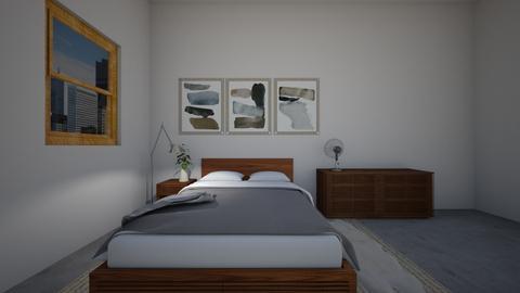 Walnut Bedroom - by bobbyflayy