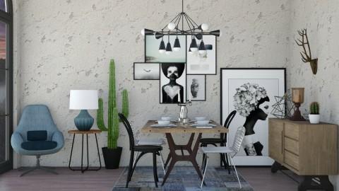 Riviera - Minimal - Dining room  - by aletamahi