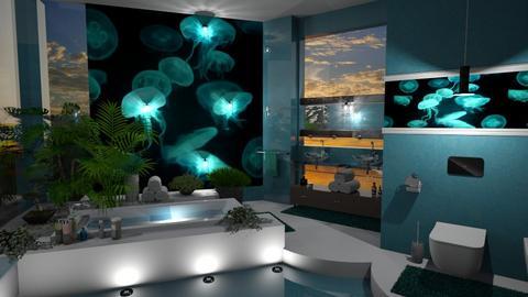 Medusa - Modern - Bathroom  - by ZsuzsannaCs