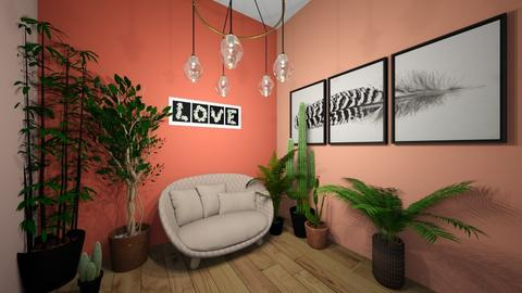 Cheerful room - by Meghan White