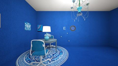 The Blue Room - by Queen Nyny