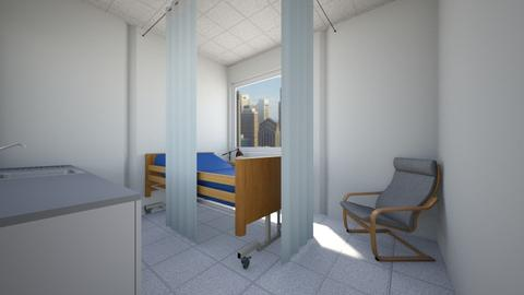 Hospital Room - Bedroom  - by SammyJPili