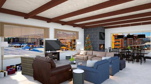 Vaccation Aspen Chalet - Living room - by Nameit