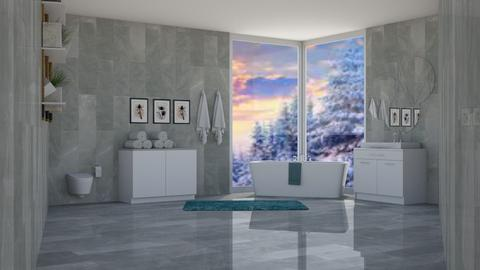 Bathroom - Modern - Bathroom  - by Ari_adnos