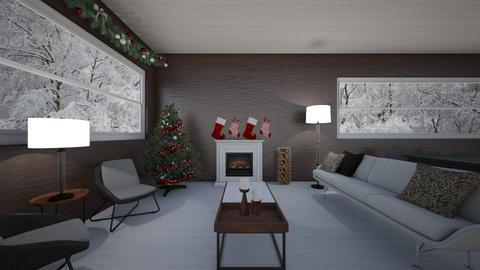 christmas living - Modern - Living room  - by sophiell
