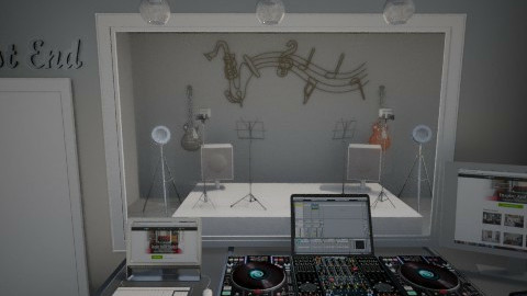 music studio - Office  - by Nameit