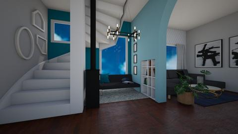 family two story home - Living room - by eby_bond